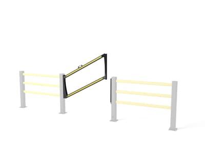 Boplan SG Drop Gate Flex Impact Pedestrian Safety Gate