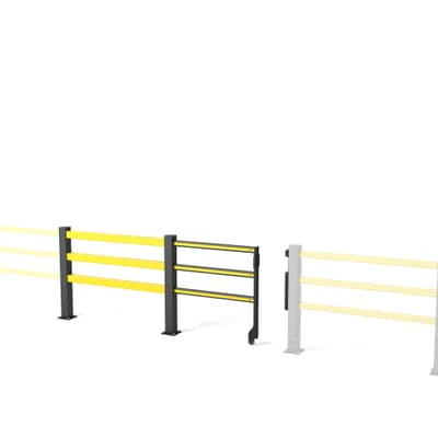 Boplan SG Sliding Flex Impact Pedestrian Safety Gate