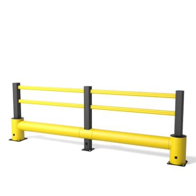 Boplan TB 400 Plus Flex Impact Traffic Barrier