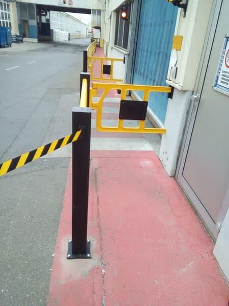 medium-HP Plus, Belt Barrier, Double Axes Gate