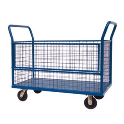 Dexters Heavy Duty Caged Trolley, 1200L x 700W