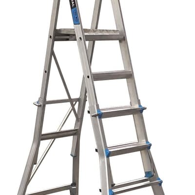 Trade Series Telescopic Platform Ladder, 3-step to 5-step