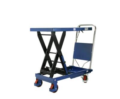 Mobile Scissor Table, 500kg capacity, 500W x 855L platform