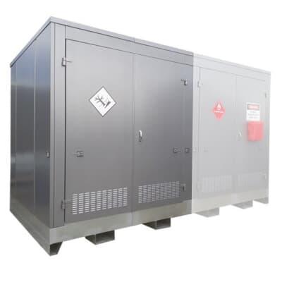 Chemshed Bulk Outdoor Storage, extension unit, 2m x 2m